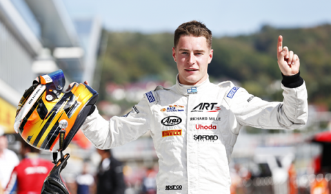 Stoffel Vandoorne, la joven promesa de McLaren, gana la GP2