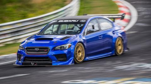 Subaru WRX STI Type RA NBR Special en Nürburgring