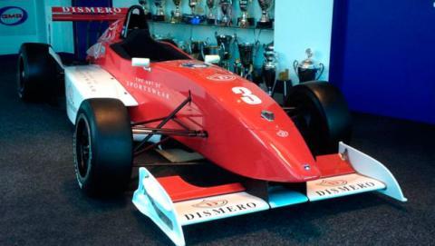 Subastan el Fórmula Renault de Kimi Räikkönen