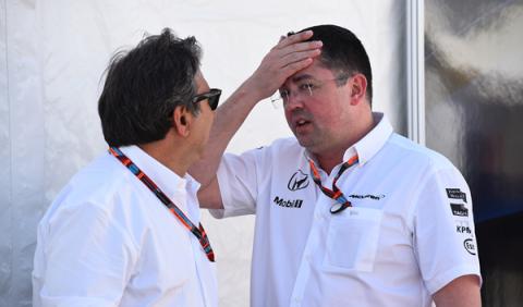 El susto de Eric Boullier a su vuelta de Le Mans