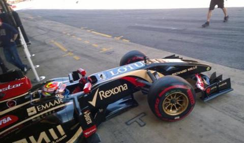 Tests F1 Barcelona. Día 2: Maldonado, el más rápido