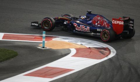 Toro Rosso, con decoración provisional a Barcelona
