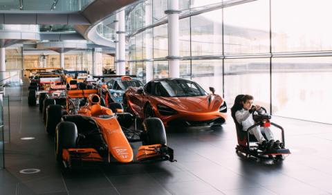 Tú puedes ser el próximo piloto de McLaren… en el simulador