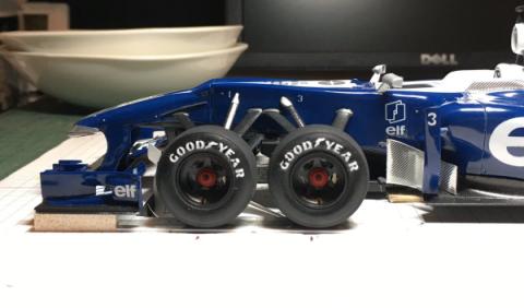 El Tyrrell P34 de seis ruedas revive en versión actual