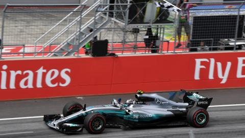 Valtteri Bottas gana el GP Austria 2017