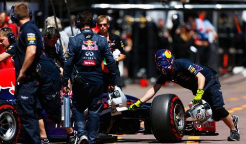 Vettel abandona el GP de Mónaco por avería