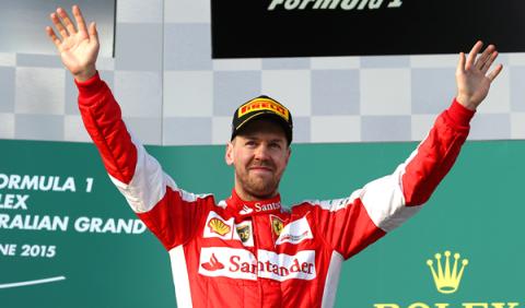 Vettel aún puede pelear por el título, según Häkkinen