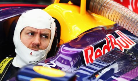 """Vettel: """"en mojado tenemos alguna posibilidad"""""""