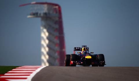 Vettel - Red Bull - EEUU 2013