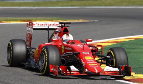Vettel vuelve a la acción en un inesperado test en Fiorano