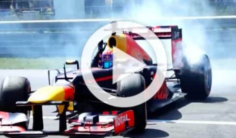 Vídeo: ¡así de bien se lo pasa Verstappen en Zandvoort!