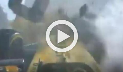 Vídeo: brutal accidente de Kevin Magnussen en Bélgica