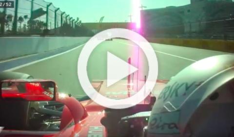 Vídeo: la espectacular lucha entre Vettel y Bottas en Rusia