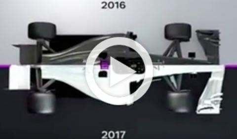 El vídeo que te ayudará a entender el reglamento de F1 2017
