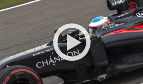 Vídeo: la rabia de Alonso en China