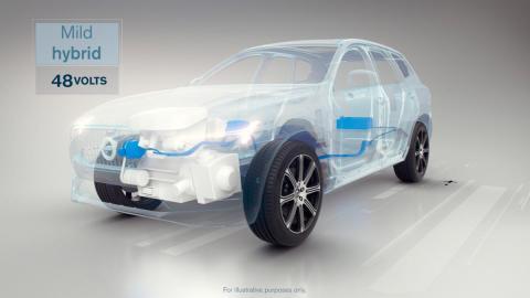 Volvo coches híbridos SUV eléctrico