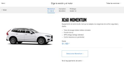 Volvo Configurador 3