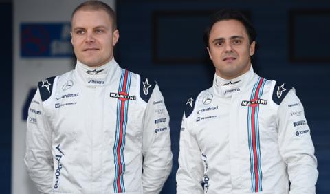 Williams confirma a Bottas y Massa para 2016