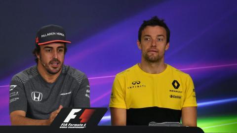 Alonso y Palmer, en rueda de prensa