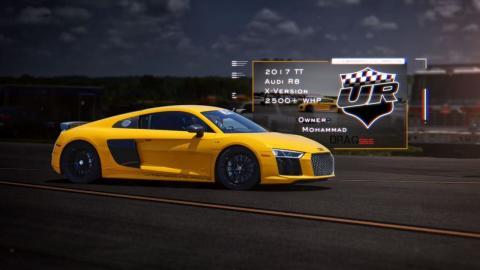 Audi R8 V10 media milla