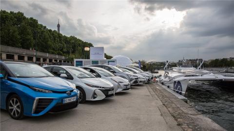 Braco hidrógeno Toyota