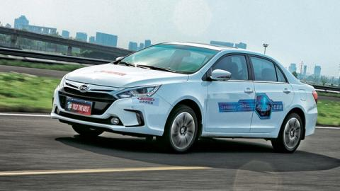 Coches chinos: BYD Qin 70