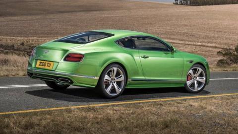 Coches que Pegasus no puede seguir: Bentley Continental GT (II)