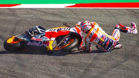 ¿Cuánto cuesta una caída en MotoGP?