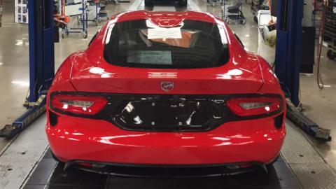 Dodge-Viper producción