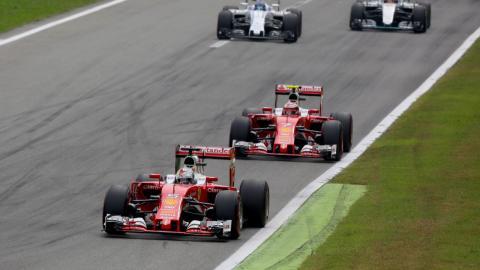 GP italia F1  2016 - Ferrari