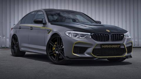 BMW M5 2018 según Manhart Performance