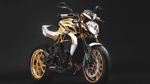 MV Agusta Dragster RR Gold Edition