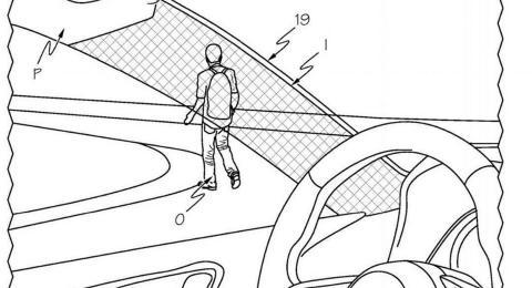 Patente Toyota pilar A