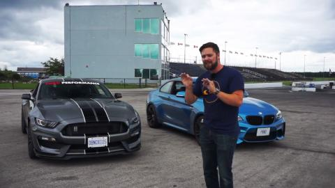 Shelby Mustang GT350 vs BMW M2