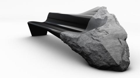 Sofá de lava Volcánica Peugeot