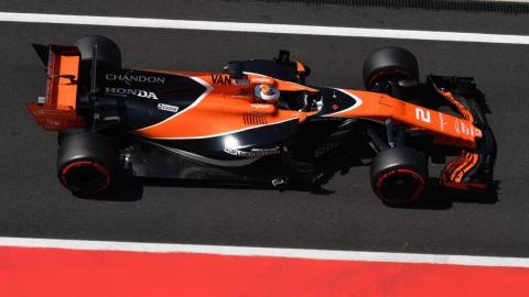 Stoffel Vandoorne, en los test F1 Hungría