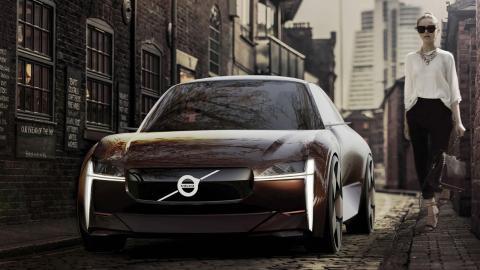 Volvo urbano y eléctrico