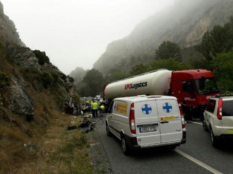 Accidente Pancorbo