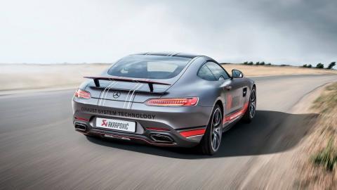 Akrapovic Mercedes-AMG GT