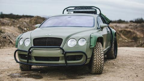 Bentley Continental GT todoterreno