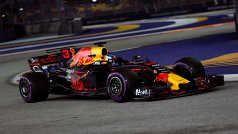 Daniel Ricciardo en el GP de SIngapur