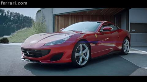 ferrari portofino video
