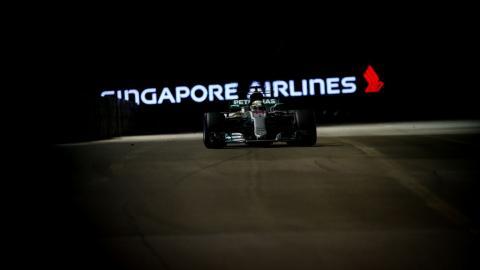 Lewis Hamilton vence en Singapur