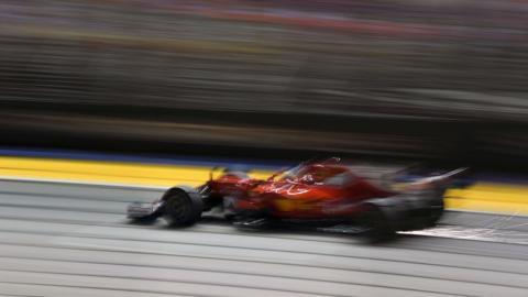 Pole de Vettel en el GP Singapur 2017