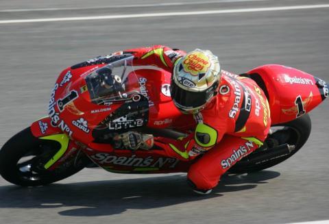 Sale a subasta la Aprilia RSW 250 de Jorge Lorenzo
