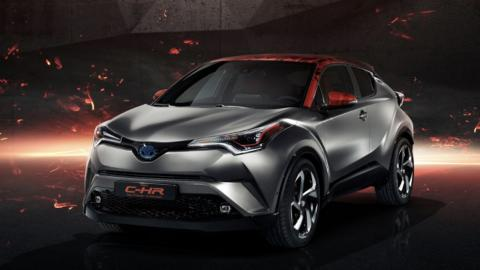 Toyota C-HR Hy-Power Concept (I)