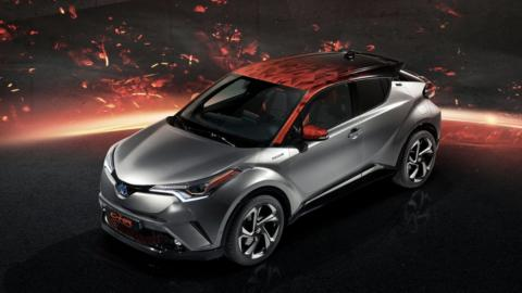 Toyota C-HR Hy-Power Concept (V)