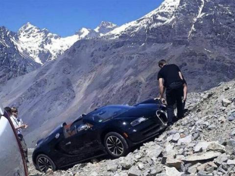 Accidente Bugatti