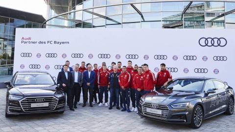 Audi 2017-2018 FC Bayern de Múnich