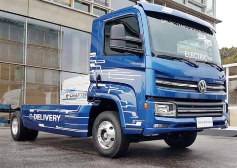 Camión eléctrico VW